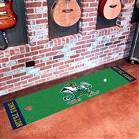 "Notre Dame Fighting Irish Putting Green Runner Mat 18""x72"""