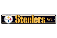 Pittsburgh Steelers Plastic Street Sign