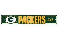 Green Bay Packers Plastic Street Sign