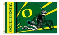 Oregon Ducks 2-Sided 3 Ft. X 5 Ft. Flag W/Grommets