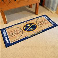Denver Nuggets NBA Large Court Runner Mat 29.5x54