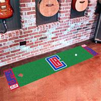 "Los Angeles Clippers Putting Green Runner Mat 18"" x 72"""
