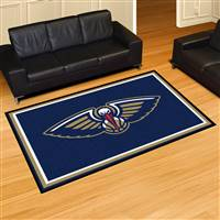 "New Orleans Hornets 5x8 Area Rug 60""x92"""