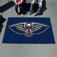 "New Orleans Hornets Ulti-Mat Tailgating Mat 60""x96"""