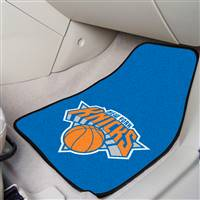"New York Knicks 2-Piece Carpeted Car Mats 18""x27"""