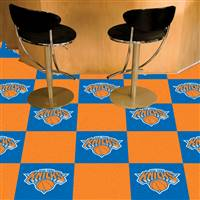 "New York Knicks Carpet Tiles 18""x18"" Tiles, Covers 45 Sq. Ft."