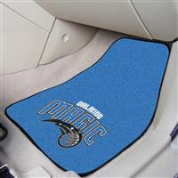 "Orlando Magic 2-Piece Carpeted Car Mats 18""x27"""