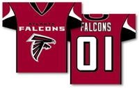 "Atlanta Falcons Jersey Banner 34"" x 30"" - 2-Sided"