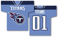 "Tennessee Titans Jersey Banner 34"" x 30"" - 2-Sided"