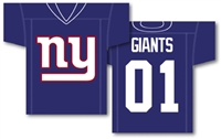 "New York Giants Jersey Banner 34"" x 30"" - 2-Sided"