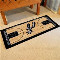 San Antonio Spurs NBA Large Court Runner Mat 29.5x54
