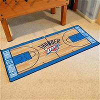 Oklahoma City Thunder NBA Large Court Runner Mat 29.5x54