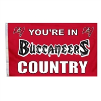 Tampa Bay Bucaneers 3 Ft. X 5 Ft. Flag W/Grommetts