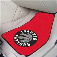 "Toronto Raptors 2-piece Carpeted Car Mats 18""x27"""