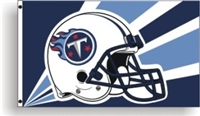 Tennessee Titans 3 Ft. X 5 Ft. Flag W/Grommetts