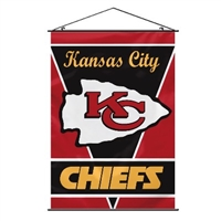 Kansas City Chiefs Wall Banner