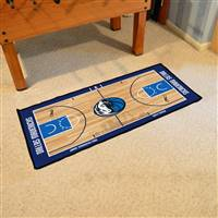 Dallas Mavericks NBA Court Runner Mat 24x44
