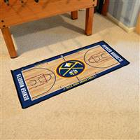 Denver Nuggets NBA Court Runner Mat 24x44