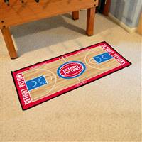 Detroit Pistons NBA Court Runner Mat 24x44