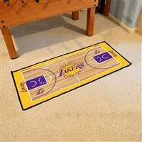 Los Angeles Lakers NBA Court Runner Mat 24x44