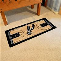 San Antonio Spurs NBA Court Runner Mat 24x44
