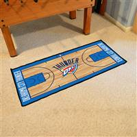 Oklahoma City Thunder NBA Court Runner Mat 24x44
