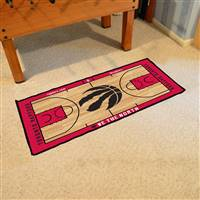 Toronto Raptors NBA Court Runner Mat 24x44