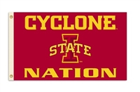 Iowa State Cyclones 3 Ft. X 5 Ft. Flag W/Grommets