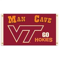 Virginia Tech Hokies Man Cave 3 Ft. X 5 Ft. Flag W/ 4 Grommets
