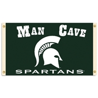 Michigan State Spartans Man Cave 3 Ft. X 5 Ft. Flag W/ 4 Grommets