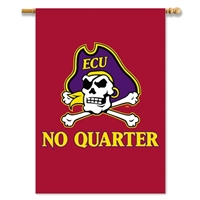 "BSI Products East Carolina Pirates 2-Sided 28"" X 40"" Banner With Pole Sleeve"