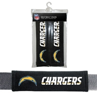 San Diego Chargers Seat Belt Pad 2 Pack