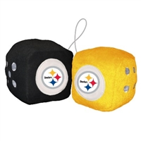 Pittsburgh Steelers Fuzzy Dice