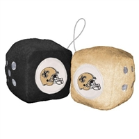 New Orleans Saints Fuzzy Dice