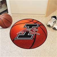 "Indianapolis Greyhounds Basketball Rug 29"" diameter"