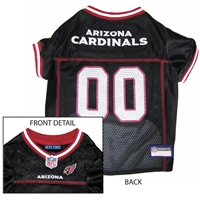 Arizona Cardinals NFL Dog Jersey - Medium