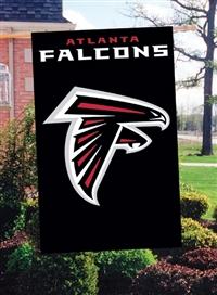 "The Party Animal  44"" x 28"" NFL Atlanta Falcons Applique Banner Flag"