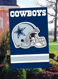 "The Party Animal  44"" x 28"" NFL Dallas Cowboys Applique Banner Flag"