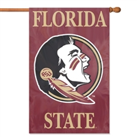 "Florida State Seminoles Oversized 44"" x 28"" Applique Banner Flag"