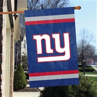 "The Party Animal  44"" x 28"" NFL New York Giants Applique Banner Flag"