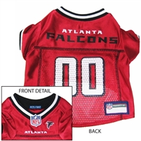 Atlanta Falcons NFL Dog Jersey - Large