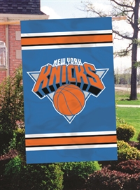 "New York Knicks NBA Oversized 44"" x 28"" Applique Banner Flag"