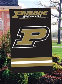 "Purdue Boilermakers Oversized 44"" x 28"" Applique Banner Flag"