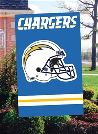 "The Party Animal  44"" x 28"" NFL San Diego Chargers Applique Banner Flag"