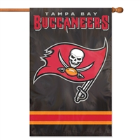 "The Party Animal  44"" x 28"" NFL Tampa Bay Buccaneers Applique Banner Flag"