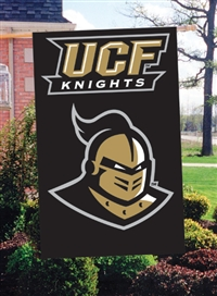 "Central Florida Knights Oversized 44"" x 28""  Applique Banner Flag"