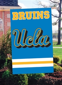 "UCLA Bruins Oversized 44"" x 28"" Applique Banner Flag"