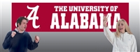 Alabama Crimson Tide 8' x 2' Giant Banner