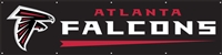 Atlanta Falcons NFL 8' x 2' Giant Banner