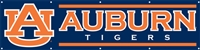 Auburn Tigers 8' x 2' Giant Banner